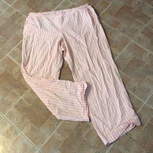 Victoria's Secret pajama pants size women's XL